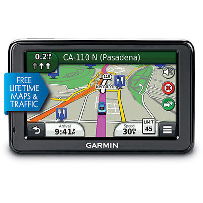 "Garmin Nuvi 2455LMT 4.3"" Portable W/ Lifetime Maps + Traffic 010-01001-29 on Rummage"