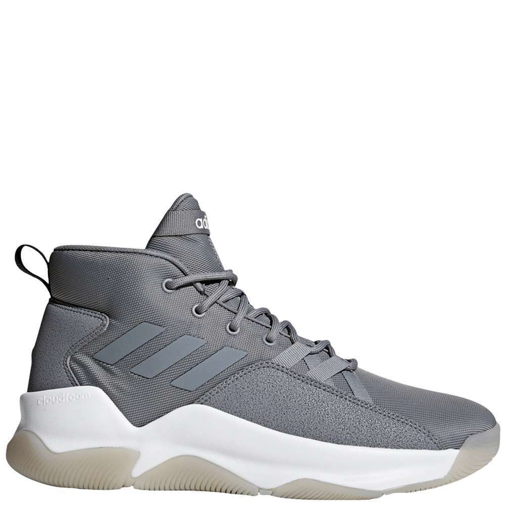 Adidas StreetFire Men's [ Grey/Grey/Cloud White ] Basketball - MF34965