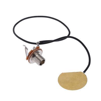 2pcs Acoustic Guitar Transducer Wired Amplifier Piezo Jack Pickup I7Q9