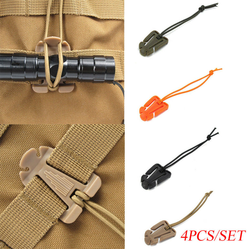 Tools Bag Accessories Molle Buckle Backpack Carabiner Organize Clip Fixed Hooks