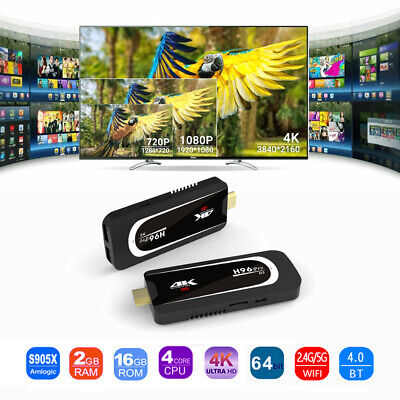2GB+16GB Smart TV Dongle Stick H96 Pro-H3 Mini PC 4K Android 7.1 S905X Quad Core