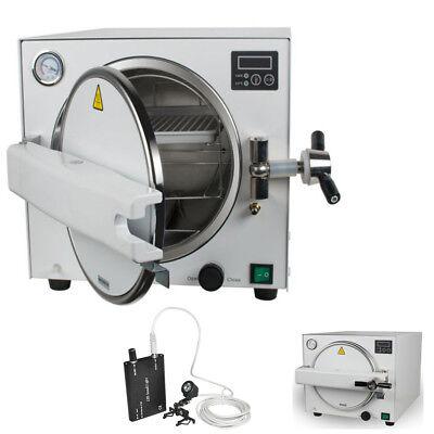 Dental Lab Equipment 18l Medical Steam Pressure Sterilizer Autoclave Traysgift
