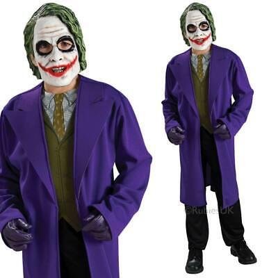 Jungen der Joker Kostüm Kinder Batman Dark Knight Bösewicht