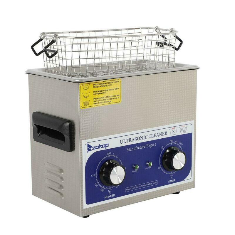 High Performance Stainless Steel Ultrasonic Cleaner 3L Liter  Cost-Effective