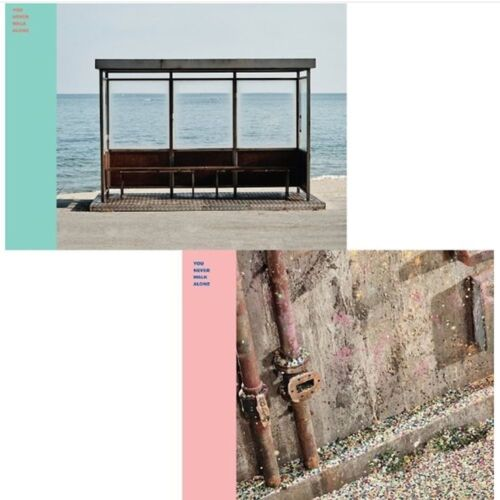 BTS-WINGS-YOU NEVER WALK ALONE Album RIGHT Ver CD,Photo Book,Card