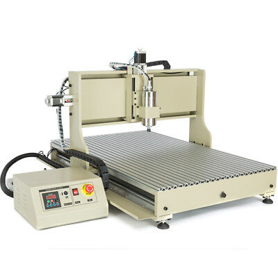 Usb 6090 4axis Cnc Router Engraver 2.2kw Engraving Mill Drill Metalwork Machine