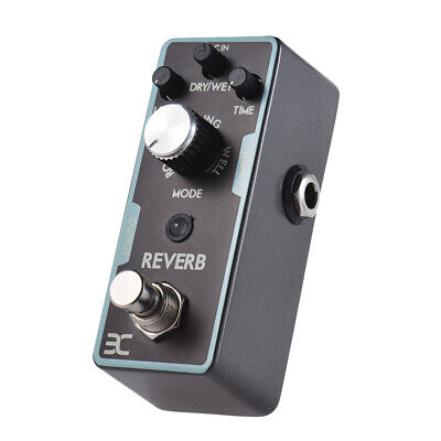 ENO Reverb Guitar Effect Pedal True Bypass from Spring Echo to Space Sound Y6Q6