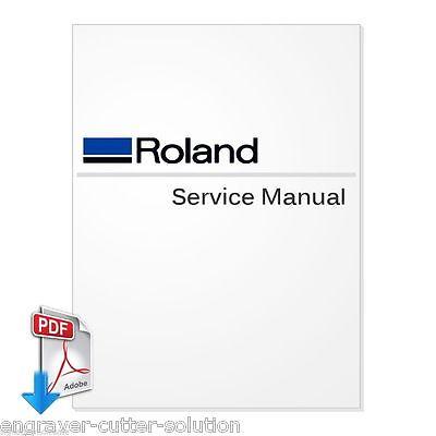 Roland Versacamm Sp-540v Service Manual Pdf File