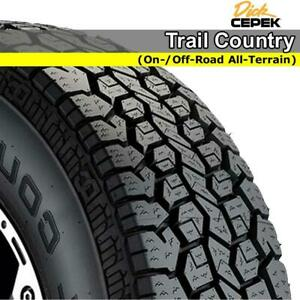 NEW 265/70R17 115T Dick Cepek Trail Country    #90000002045