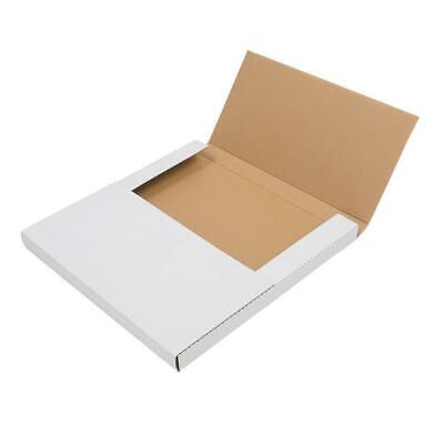 100 Lp 12.5 X 12.5 Premium Record Album Mailers Shipping Book Box White
