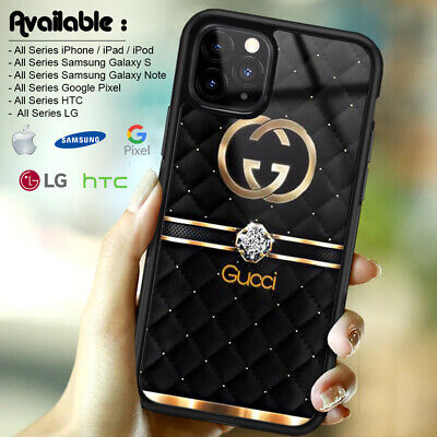 Case Print Guccy45r5 iPhone 7 X XR XS 11 Pro Max With Tempered Glass Protector