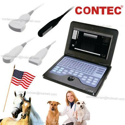 Cms600p2 Vet Veterinary Ultrasound Scanner Portable Laptop Machine For Animal Ce