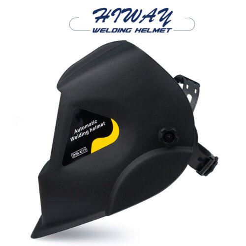 HIWAY Welding Helmet Mask TIG/MMA/MIG /ARC/Welder Black Looking simple style