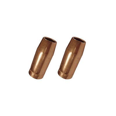 2-pk 58 198855 Nozzle For Miller Spoolmatic Xr Series Welding Gun