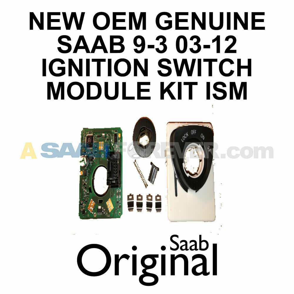 Details about NEW SAAB 9-3 93 OEM ISM IGNITION SWITCH MODULE REPAIR KIT OEM  12801010 32021815