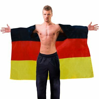 German Trendseller® - Deutschland Flaggen - Cape ┃ NEU ┃ Jubel - Fahne | (Jubel Kostüm)