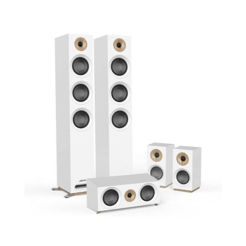 Jamo Studio Series S 809 Hcs-wh White Home Cinema System