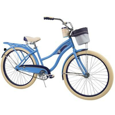 Huffy Women's Cruiser Bike 26-inch Deluxe Blue NEW