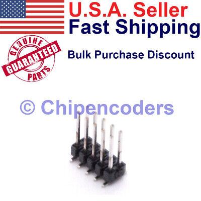 Samtec Tsm-110-03-t-dv 10 Pin Header Smd 2.54mm Spacing Male Connector Pcb 2x5
