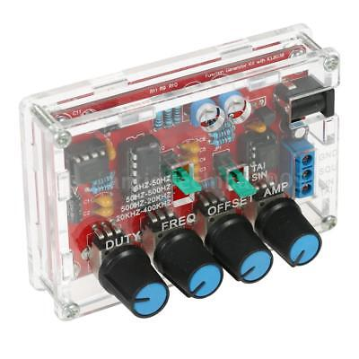 Professional Icl8038 Function Signal Generator Sine Triangle Wave Diy Kit Y3f5