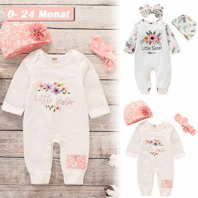 �dchen Kleidung Blumen Jumpsuit Kleinkind Bodysuit Outfits DE (Kleinkind Mädchen)