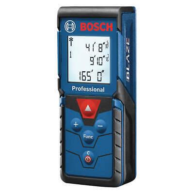 Bosch Glm165-40 Laser Distance Meterblacklit164 Ft.