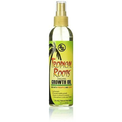 Bronner Brothers Tropical Roots Growth Oil 8 Oz (pack Of 5)