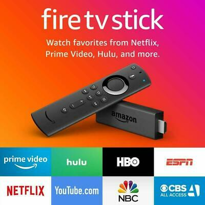 Amazon Fire TV Stick HD 2019 w/New Gen Alexa Remote, UNALTERED!! FACTORY SEALED
