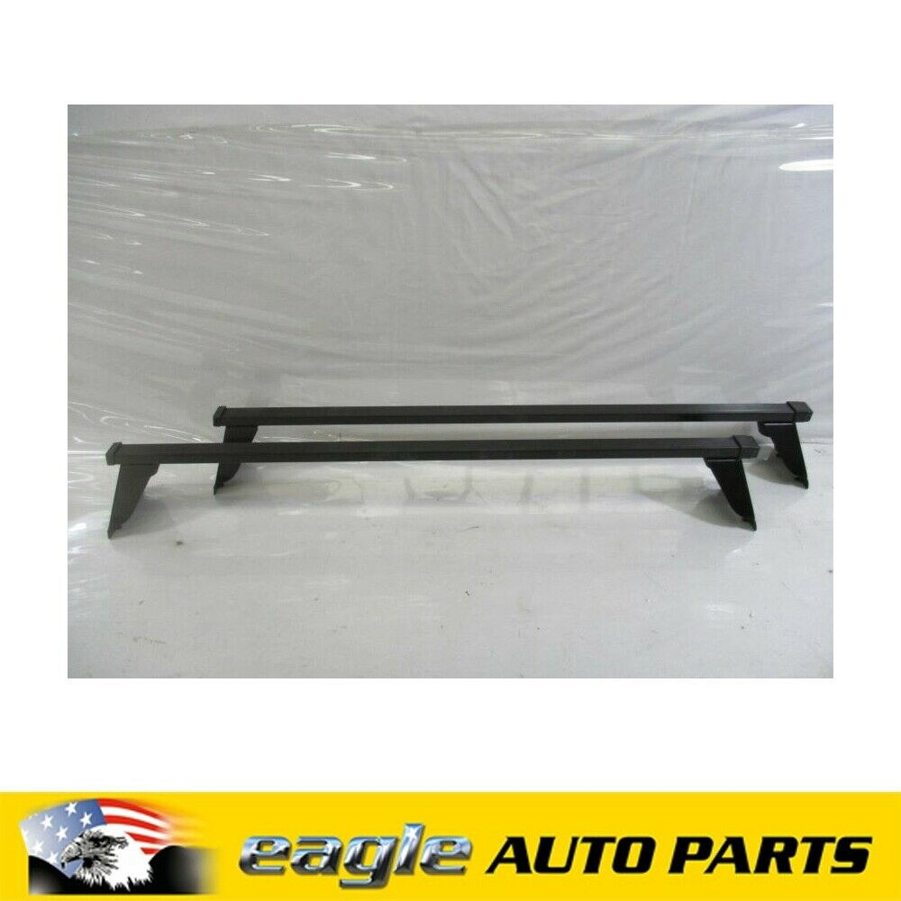 Details about Genuine SAAB 9000 1985 - 1998 Roof Rack Set # 400100384
