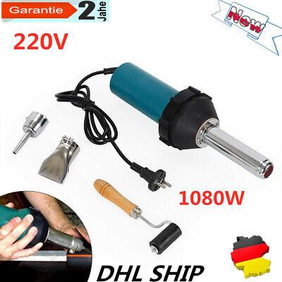 220V Heißluftpistolen Schweißbrenner Satz Kunststoff DSH-A1080w + Druckwalze DHL - Heiße Werkzeuge, Walzen