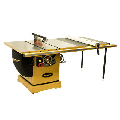 Powermatic 3000b Table Saw 7.5hp 3ph 230460v 50 Rip With Accu-fence Pm375350k