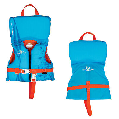 STEARNS 2000029260 INFANT ANTIMICROBIAL LIFE JACKET BLUE UP