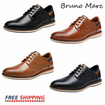 Bruno Marc Mens Casual Shoes Fashion Lace up Classic Oxford