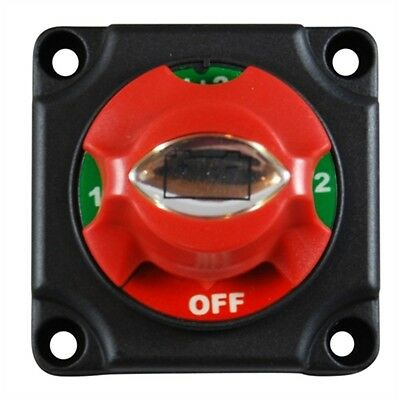 Marpac EL080500 Battery Bank Selector Switch 1-2-Both-Off Battery 300A Rated MD