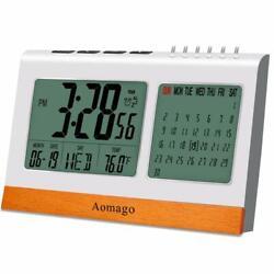 Digital Alarm Clock Battery Operated for Heavy Sleeper, Kids, RONY Desk Clock fo
