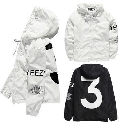 Limited Edition Popular Yeezus Tour yzy Streetwear Windbreaker Thin Pablo Jacket