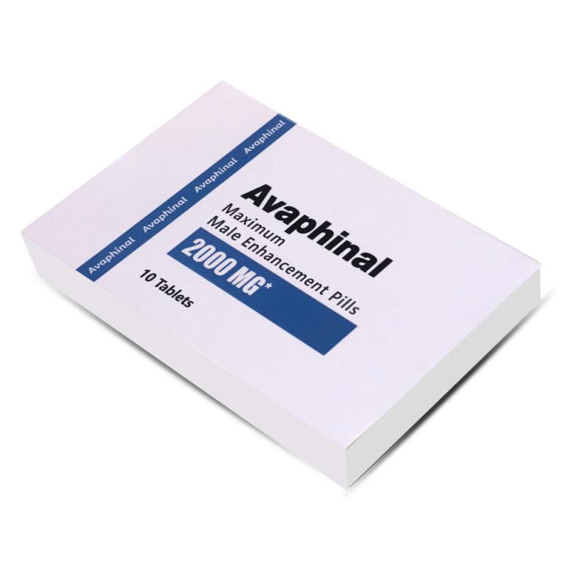 Avaphinal Premium Maximum Male Enhancement - POWERFUL ERECTION 10 Pills