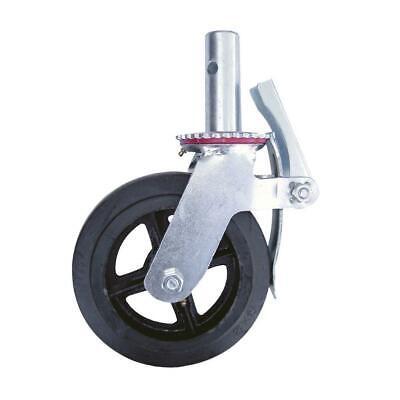 Metaltech 8 In. Scaffolding Caster Wheel