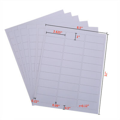 30000 Address Labels1000 Sheets Bright White Amazon Fba Labels 30up