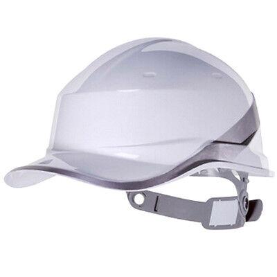 White Deltaplus Venitex Construction Ratchet Hard Hat Safety Helmet Diamond
