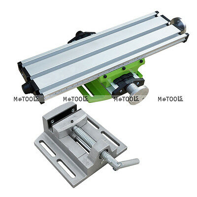 Milling Machine Vise Fixture Precision 2 Axis Work Table For Bench Drill From Us