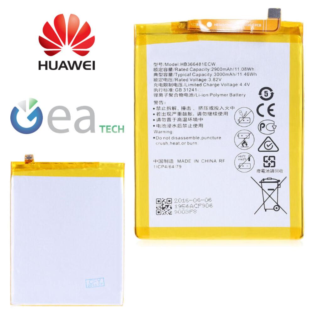 Huawei Batteria Originale HB366481ECW Per P9 Lite e P8 Lite 2017 3000mah Nuova