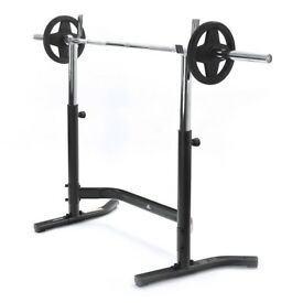 Adidas Squat Stand. Both chest and legs.