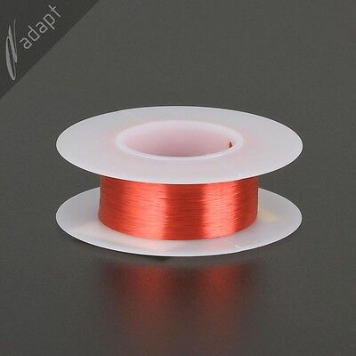 Magnet Wire Enameled Copper Red 40 Awg Gauge 155c 0.5 Oz 1000 Hpn