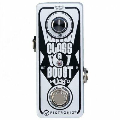 Pigtronix Class A Boost Micro Effects Pedal, PXCAB D