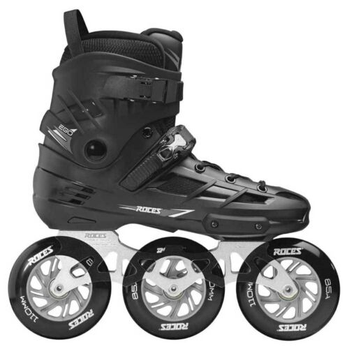 Roces Ego 3 x 110 Inline Skates Size 11 US 29.3CM NEW! BIG Wheel Rollerlades!