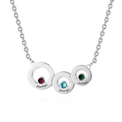 Personalized Mother Day Gifts (Personalised Mother's Day Gifts Custom Any names Necklace Birthstone)