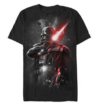 Star Wars Epic Darth Vader Mens Graphic T Shirt (Darth Vader T Shirt)