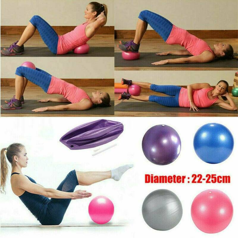 25cm Fitness Exercise Ball Yoga Gym Swiss Pregnancy Birthing