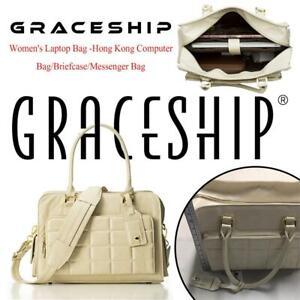 NEW GRACESHIP Womens Laptop Bag -Hong Kong Computer Bag/Briefcase/Messenger Bag Condtion: New